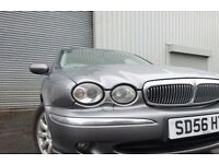 💥56 JAGUAR X-Type Se D 2.2 DIESEL,MOT JAN 018,PART HISTORY,2 OWNERS,VERY RELIABLE CAR