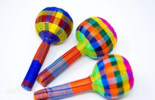 3 PACK!!! Mexican Rattle Toy - Sonaja Artesanal