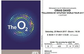 Craig David tickets - London O2 - Saturday 25th