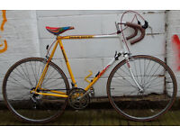 Vintage road bike FALCON REYNOLDS Cro-Mo frame 25inch serviced warranty Welcome for test ride