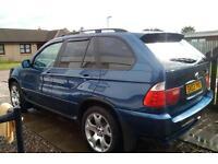 BMW X5 Sport auto 2003 Topaz blue