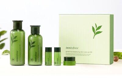Innisfree Grüner Tee Balancing Skin Toner 200ml & Lotion 160ml EX Set Korea