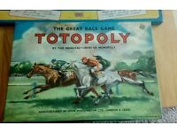 Vintage Totopoly + John Bull print outfit