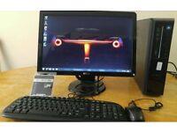 Dell Vostro 230 Computer Slim Form PC & Dell 21 Widescreen - Last ONE Bargain - Save £50