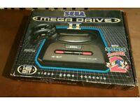 Boxed Sega megadrive2