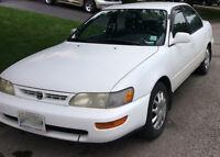 1997 Toyota Corolla VE Sedan