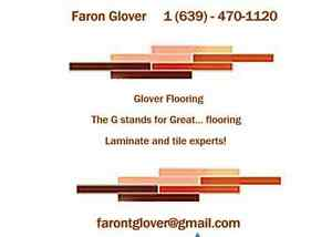 Glover Flooring Laminate & Tile Experts Supply and Install