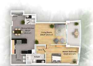 Lxuxry 1 bedroom Abigail Apartments (free first month)