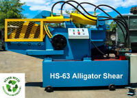 Alligator Shears, Wire Strippers, Balers, etc. for Sale.
