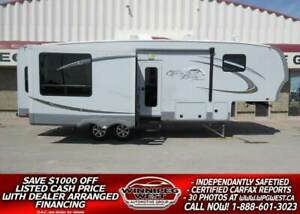 2012 Open Range ROAMER 316RLS, 31FT TRIPLE SLIDE, REAR LOUNGE PR