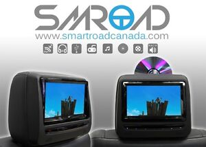 "2X7"" Adjustable Screen HD Screen Car Headrest DVD Players"