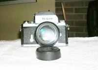 Nikon F photomic 67 with ori. lense 50 mm 1.4 perfect condi