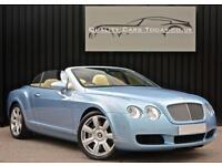 Bentley Continental 6.0 W12 GTC Convertible *Silverlake Blue +Magnolia+High Spec
