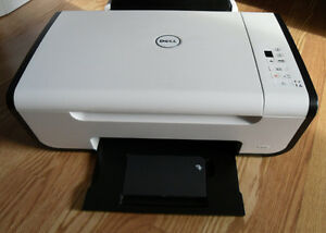 Dell v105 Color inkjet Printer Scanner Copier No Cartridges Cord