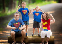 Customized outdoor family photography sessions