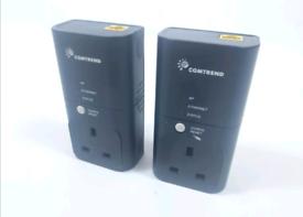 2 x Comtrend PowerGrid 9020 Powerline Adaptors