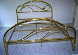 Antique Brass Bed Frame