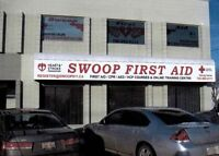 Swoop First Aid - First Aid & CPR Courses at your convenience