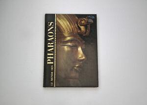 LE MONDE DES PHARAONS, grand livre