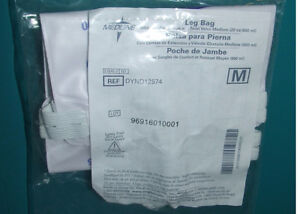 2 Medline Leg Bags - DYND12574 - NEW - $13.00 For BOTH !!!