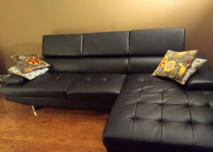 Leather Sectional Sofa-Great Condition-Moving sale!