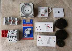 New and used electrical bits
