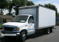 14'foot truck delivery service offered