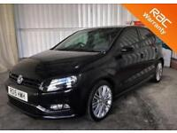 2015 15 VOLKSWAGEN POLO 1.4 BLUEGT DSG 5D AUTO 148 BHP P/X WELCOME! FULL SERVIC