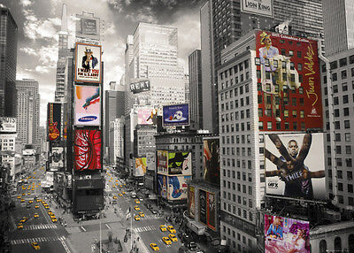 New York  Times Square Giant Poster Print  55X39