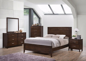 Henry 8pcs solidwood bedroom set $1299
