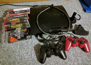 PS3 - 9 games, 2 controllers