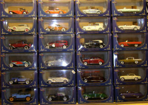 24 diecast 1/32 scale cars: Cord, Hudson, Nash, REO, Pierce, etc