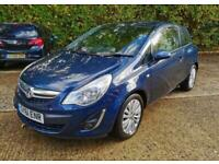 2011 Vauxhall Corsa 1.2 i VVT 16v Excite 3dr (a/c) +Cheap Insurance +Aux +ULEZ +