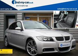 2009 58 BMW 325d 3.0d M Sport Saloon Manual with Heated Leather | FSH