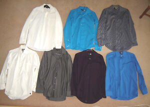 Dress Shirts - sz14.5, 15, 15.5, M, L / Shorts sz 28, 32