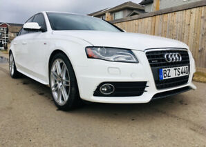 2010 Audi A4 S Line, 6 speed manual, only 80,000km