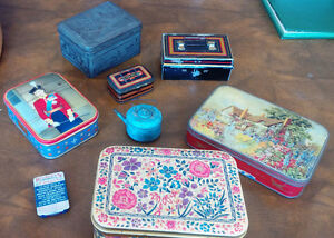 Vintage Tins Kitchener / Waterloo Kitchener Area image 1