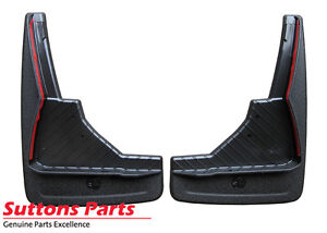 NEW GENUINE HOLDEN COMMODORE VF FRONT MUDFLAP SET SPORTS PART 92277968