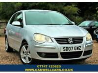 2007 Volkswagen Polo 1.6 SPORT 3d 103 BHP Hatchback Petrol Manual