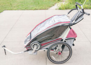 Chariot CTS CX2 Bicycle Trailer/ Double Stroller