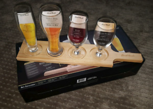 6 piece beer tasting set  BNIB