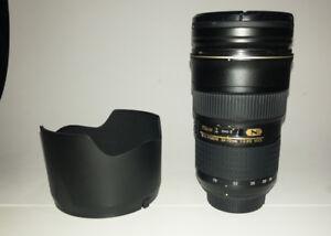 Nikon AF-S Nikkor 24-70mm f/2.8G ED – Great condition