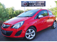 2014 VAUXHALL CORSA 1.0 ECOFLEX STING 3DR - LOW MILES - FULL S/HISTORY - LOVELY