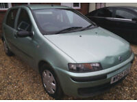 Fiat Punto 1.2 Petrol 5 door GUARANTEED FINANCE AVAILABLE ON NEWER CARS