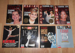 People Yearbook TIME 75 Years Greatest Events 20th Century Books
