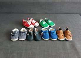 Baby boy pram shoes