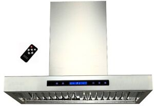 HIGH POWERFUL 900CFM RANGE HOOD WALL MOUNT WITH REMOTE FOR SALE