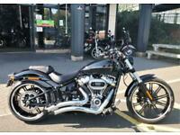 2018 Harley-Davidson SOFTAIL FXBRS BREAKOUT 114 FXBRS Vivid Black (18MY) Custom