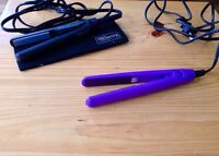 Two brand new Mini hair straighteners FOR SALE !!