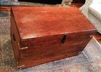 Antique Vintage Trunk Chest